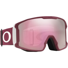Oakley Line Miner Gafas de Nieve Hombre, grey/prizm hi pink